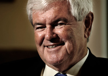Newt Gingrich in interview