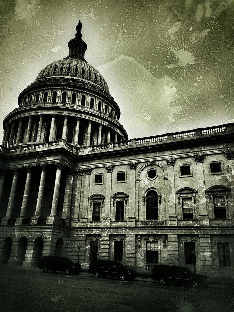 The U.S. Capitol.  Photo © 2013 Jay Mallin.  All rights reserved.