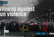 Witness against gun violence - video