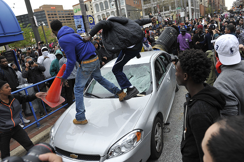 Protesters March Over Baltimore Man's Death in Police Custody